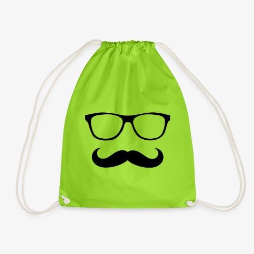 gafas y bigote - Mochila saco