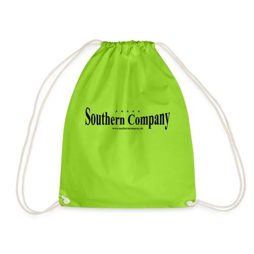 Southern Company Logo Schwarz - Turnbeutel