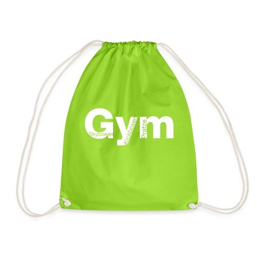 Gym weiß - Turnbeutel
