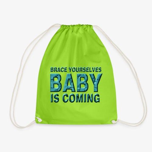 Baby is coming - Mochila saco