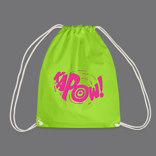 KAPOW Tee Shirts - Drawstring Bag