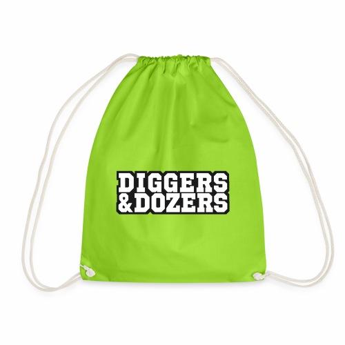 Block Letters - Drawstring Bag