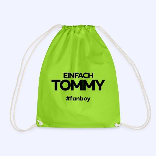 Einfach Tommy / #fanboy / Black Font - Turnbeutel
