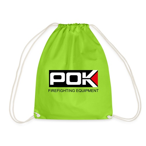 POK LOGO FIREFIGHTING EQUIPMENT - Drawstring Bag