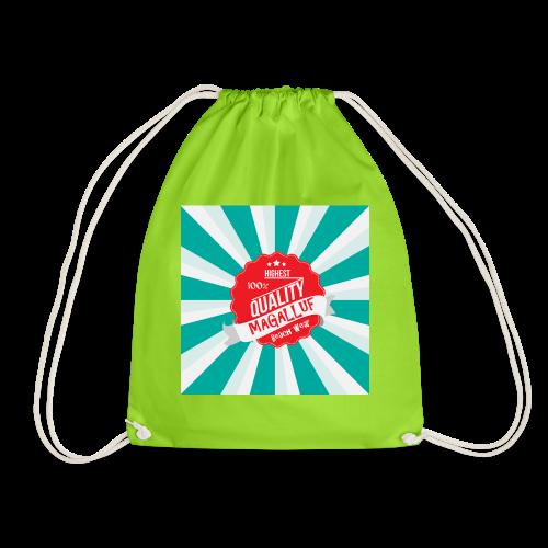 Magalluf-Badge - Drawstring Bag