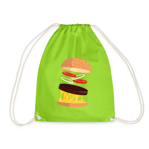 Hamburger Men - Drawstring Bag
