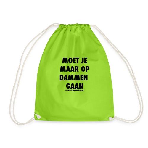 Moet Je Maar Op Dammen Gaan t-shirt - Gymtas