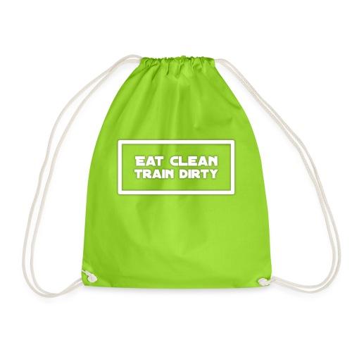 eat clean - Turnbeutel