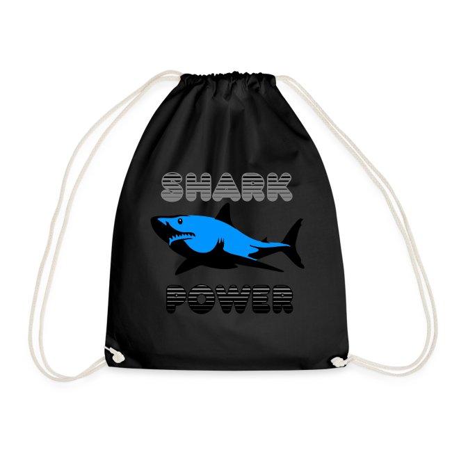 Shark Power Blau