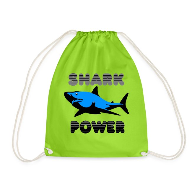 Shark Power Blau