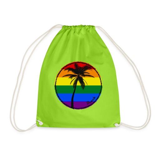 Beach sunny rainbow - Worek gimnastyczny