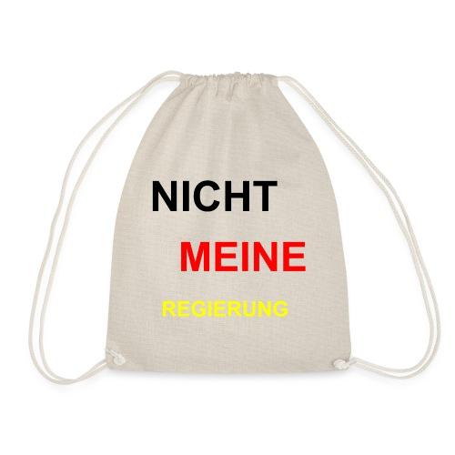 NICHT MEINE REGIERUNG - Turnbeutel
