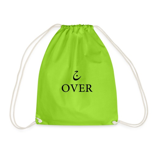 ج OVER - Drawstring Bag