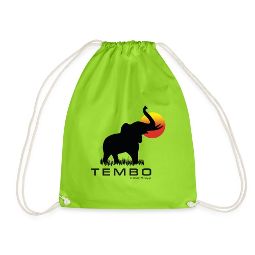 elephant - Tembo - Turnbeutel
