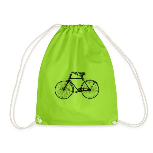 Retro Fahrrad - Turnbeutel