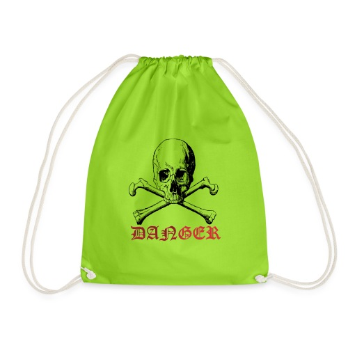 skull bone - Drawstring Bag