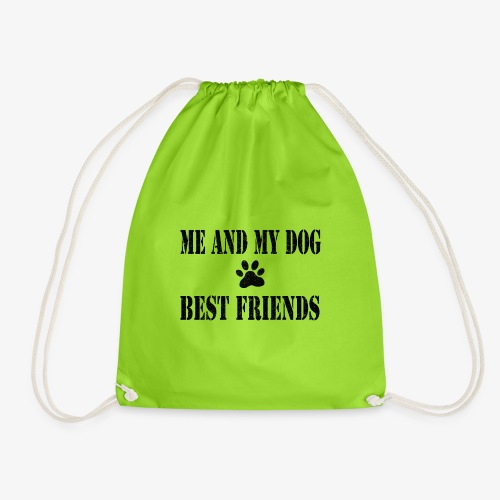 Me and my dog best friends - Gymtas
