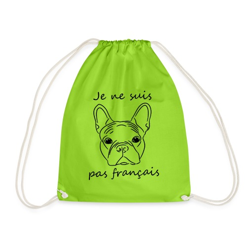 I'm not french - Drawstring Bag