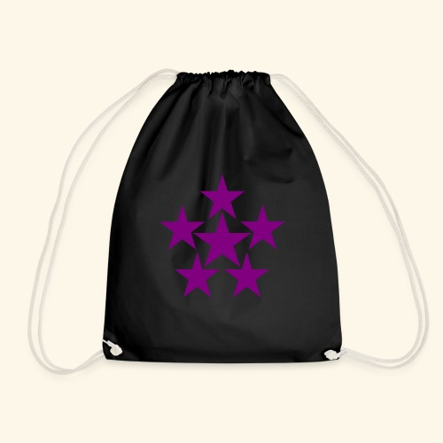 5 STAR lilla - Turnbeutel