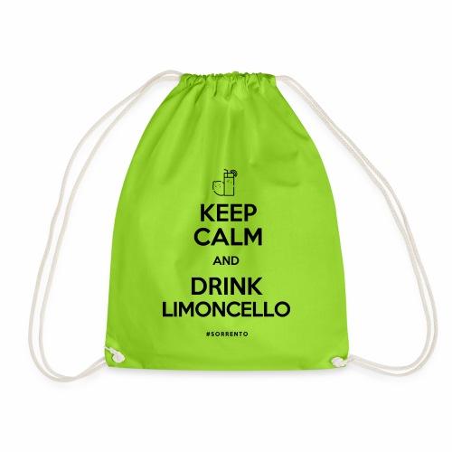 Restez calme et buvez du Limoncello - Sac de sport léger