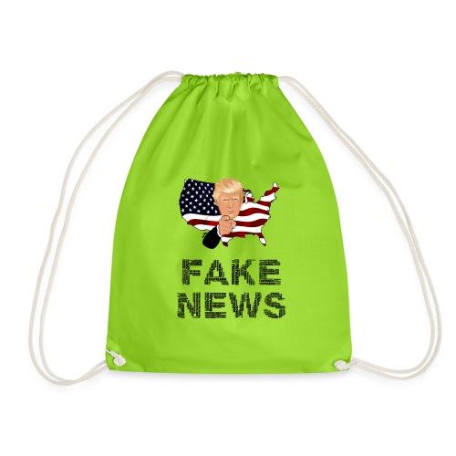 Trump Fake news - Turnbeutel