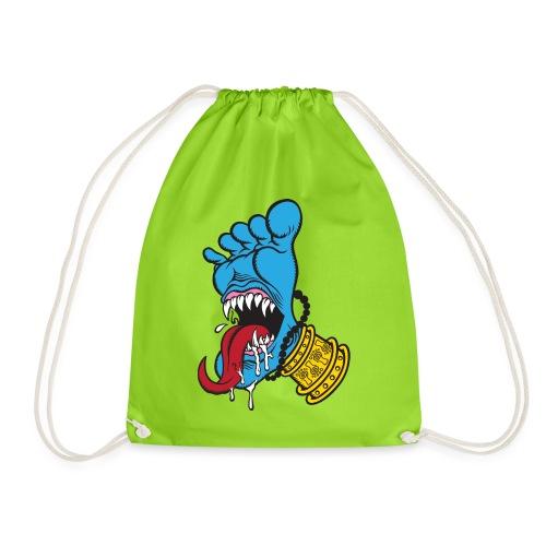 Screaming Foot by Catana.jp - Drawstring Bag