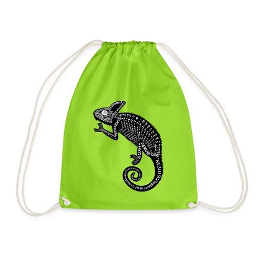 Chameleon Skeleton - Drawstring Bag