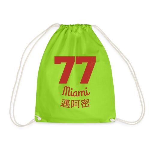 77 miami - Turnbeutel