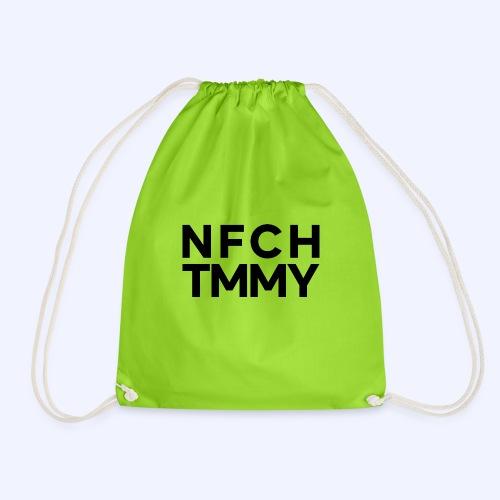Einfach Tommy / NFCHTMMY / Black Font - Turnbeutel