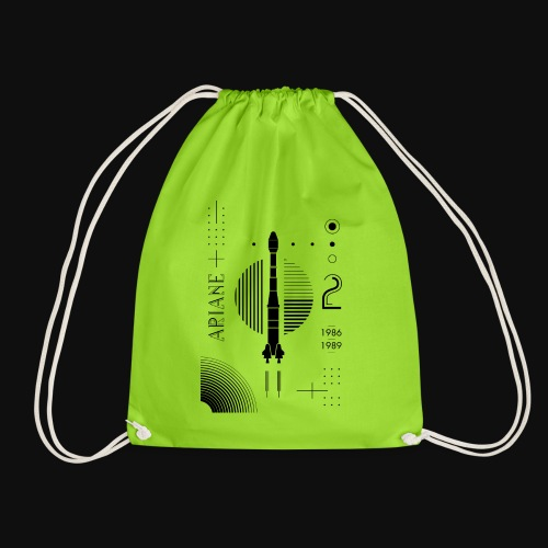 ARIANE 2 - Back Patern - Drawstring Bag