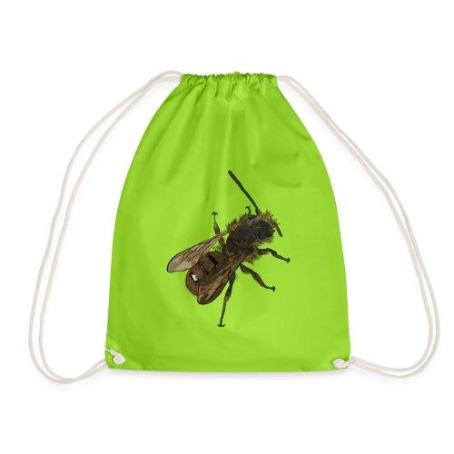 Osmia bicornis (male) - Drawstring Bag