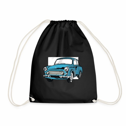 Trabant 601 (light blue) - Drawstring Bag