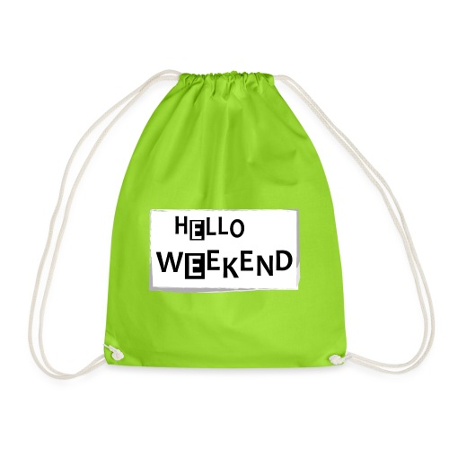 Hello Weekend - Turnbeutel