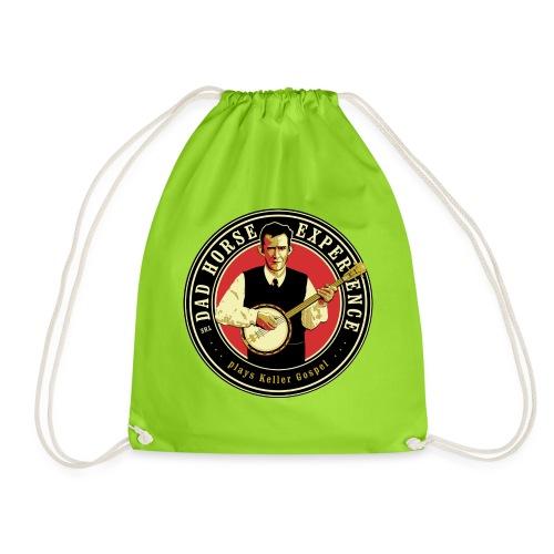 Dad Horse Kellergospel round - Drawstring Bag