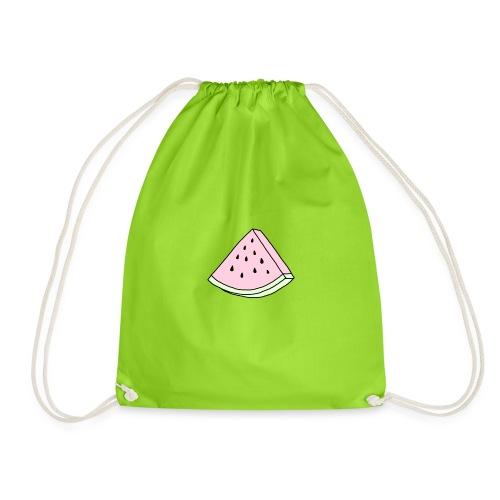 tumblr watermelon - Drawstring Bag