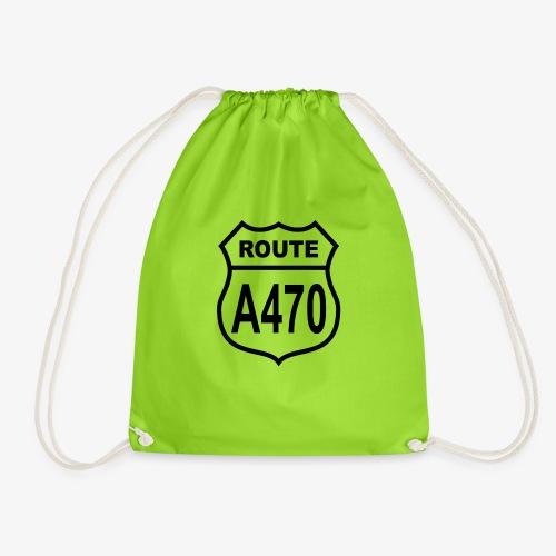 Route A470 - Drawstring Bag