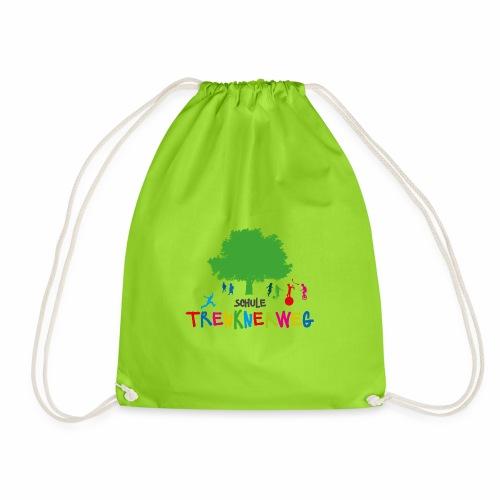 Schulkleidung Schule Trenknerweg buntes Logo - Turnbeutel