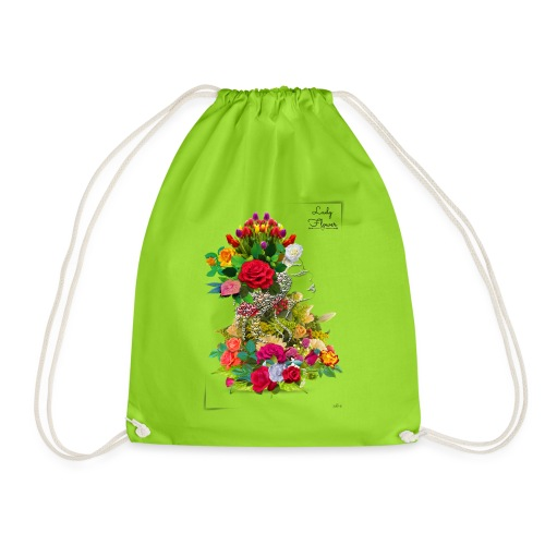 Lady flower -by- T-shirt chic et choc - Sac de sport léger