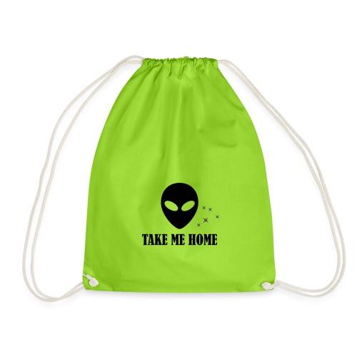 TAKE ME HOME - Drawstring Bag