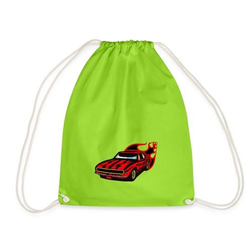 auto fahrzeug rennwagen - Turnbeutel