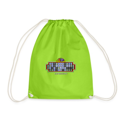 Jackie Weaver Wheel of Fortune - Drawstring Bag