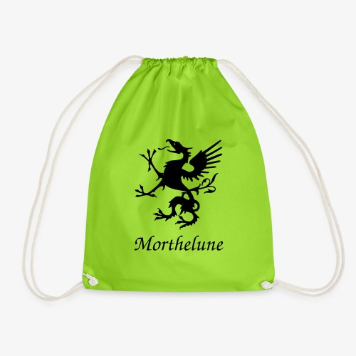 Griffon Morthelune - noir - Sac de sport léger