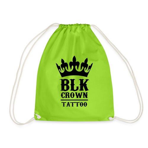Black Crown Logo - Turnbeutel