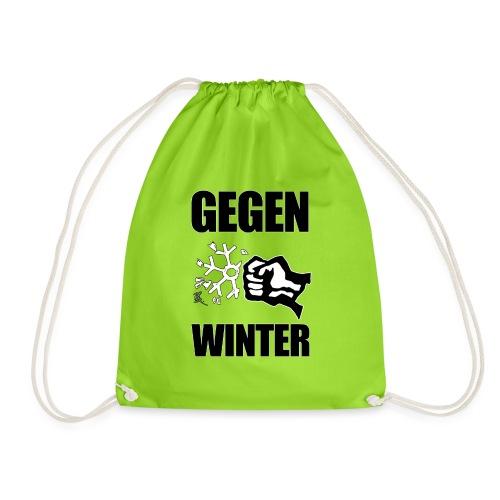 Gegen Winter - Turnbeutel