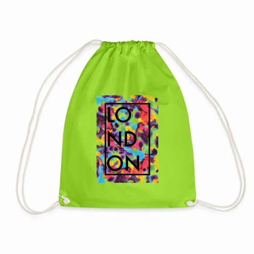 London Art 2 - Drawstring Bag