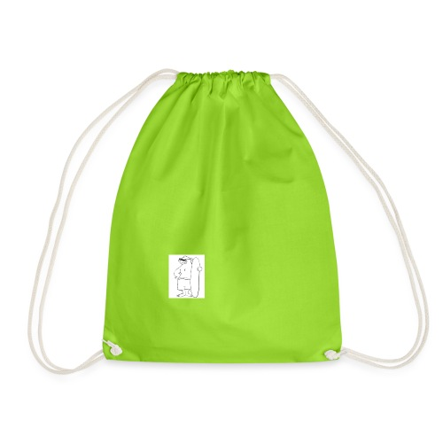 chilled no dramas - Drawstring Bag