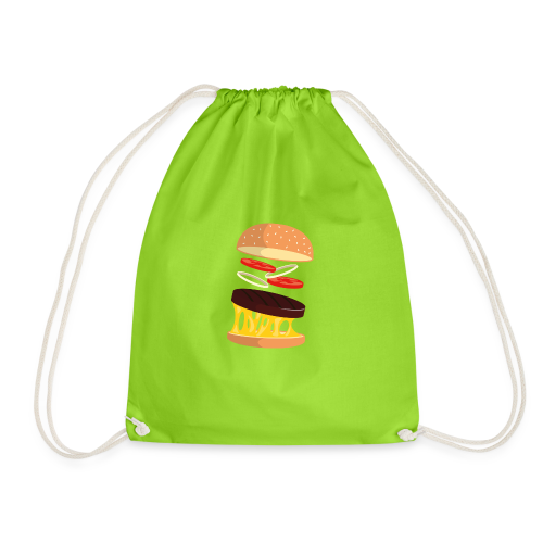 Hamburger Men - Drawstring Bag