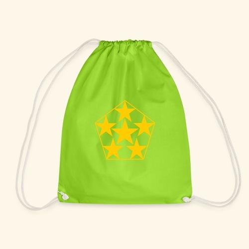 5 STAR gelb - Turnbeutel
