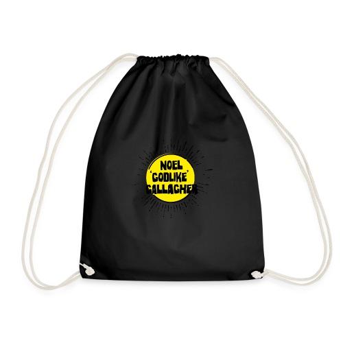Noel Gallagher 'Godlike' - Black on Yellow - Sacca sportiva