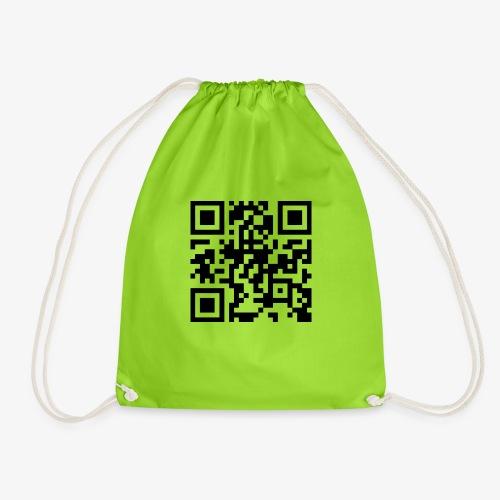 QR Code - Drawstring Bag
